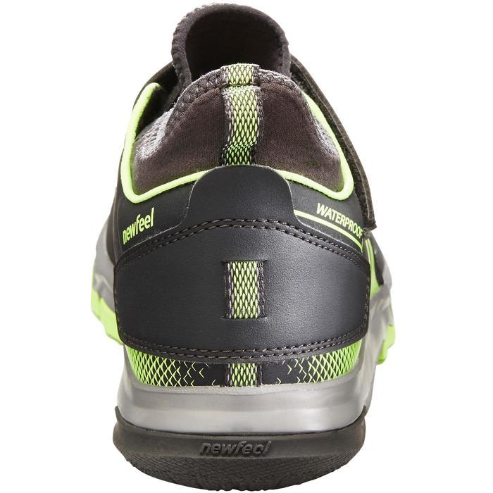 Nordic walking schoenen voor kinderen NW 580 grijs / groen - 1419891