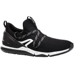 Zapatillas marcha deportiva hombre PW 140 negro / blanco