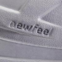 Chaussures marche urbaine homme PW 100 gris