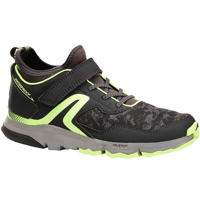 Nordic walking schoenen voor kinderen NW 580 grijs / groen - 1419911