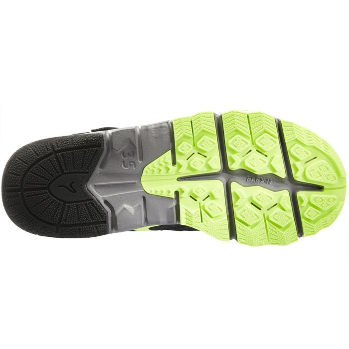 Nordic walking schoenen voor kinderen NW 580 grijs / groen - 1419913