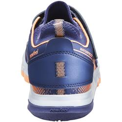 Chaussures marche nordique enfant NW 580 bleu / corail