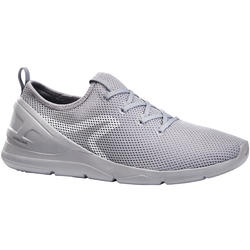 Chaussures marche sportive homme PW 100 gris
