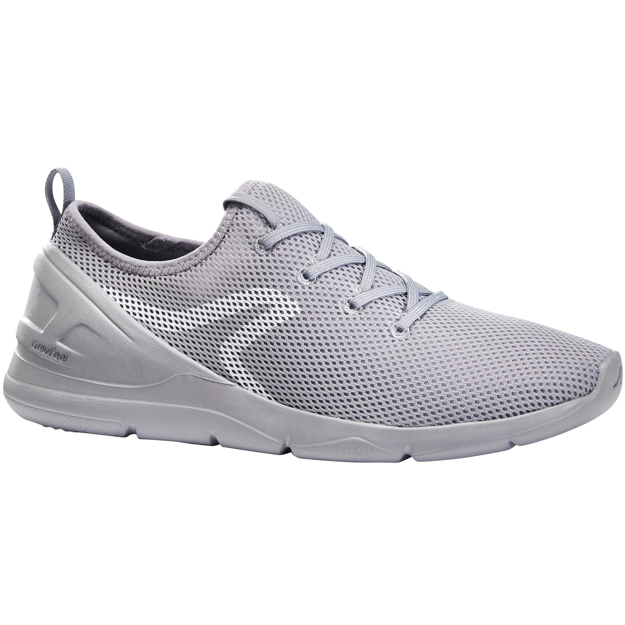 Walkingschuhe PW 100 Herren grau | Schuhe > Sportschuhe > Walkingschuhe | Newfeel