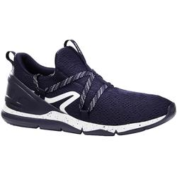 PW 140 men's fitness walking shoes blue / white