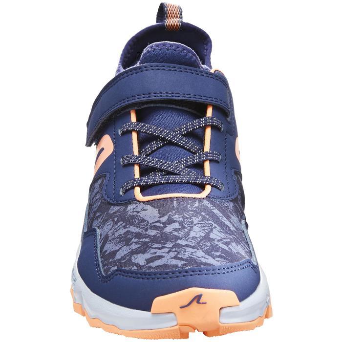 NW 580 Children's Nordic Walking Shoes grey green - 1419946