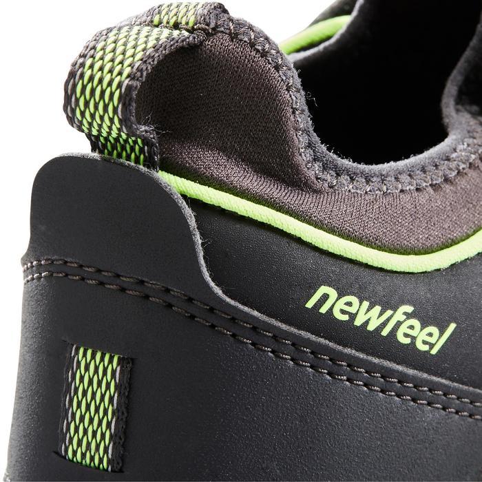 NordicWalkingschuhe wasserdicht NW 580 Kinder grau/grün