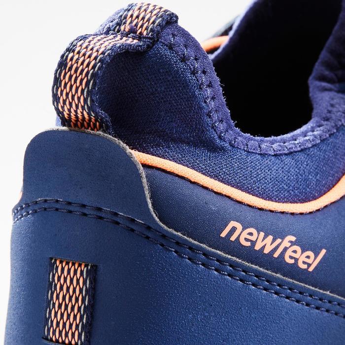 Nordic Walkingschuhe NW 580 Kinder blau/koralle