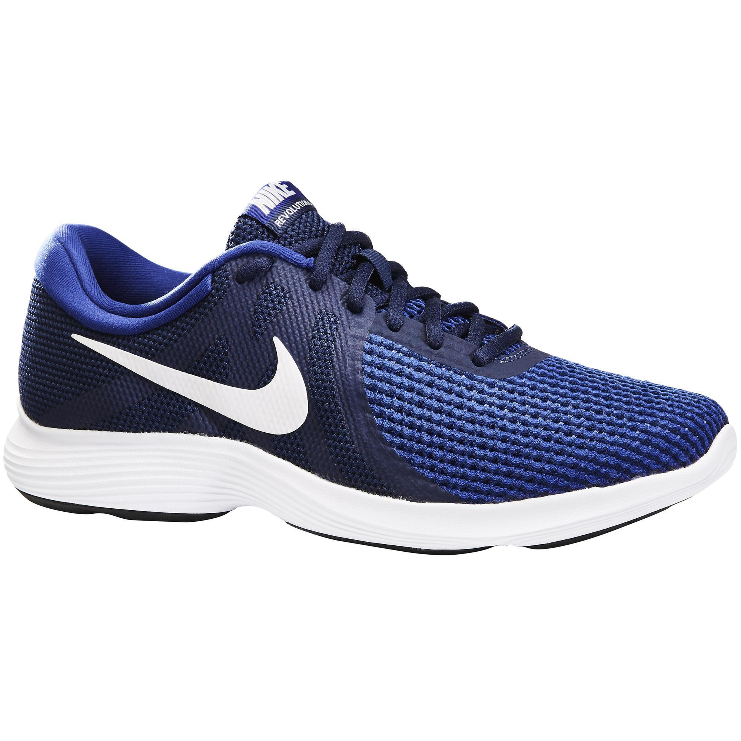 Nike Herensneakers voor sportief wandelen Revolution 4 blauw