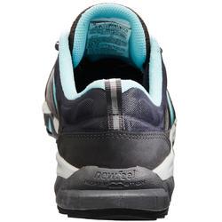 0fff18e278d41 Chaussures marche sportive femme PW 940 Propulse Motion cuir gris / bleu