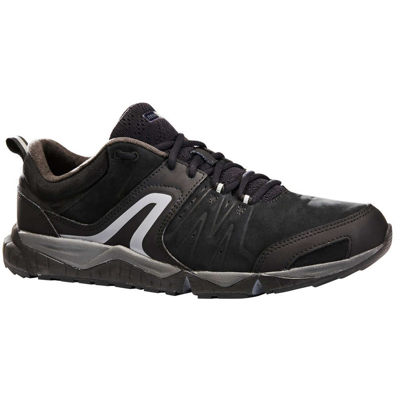 MEN SPORT WALKING SHOES Hiking - PW 940 Propulse Motion Leather NEWFEEL - Outdoor Shoes
