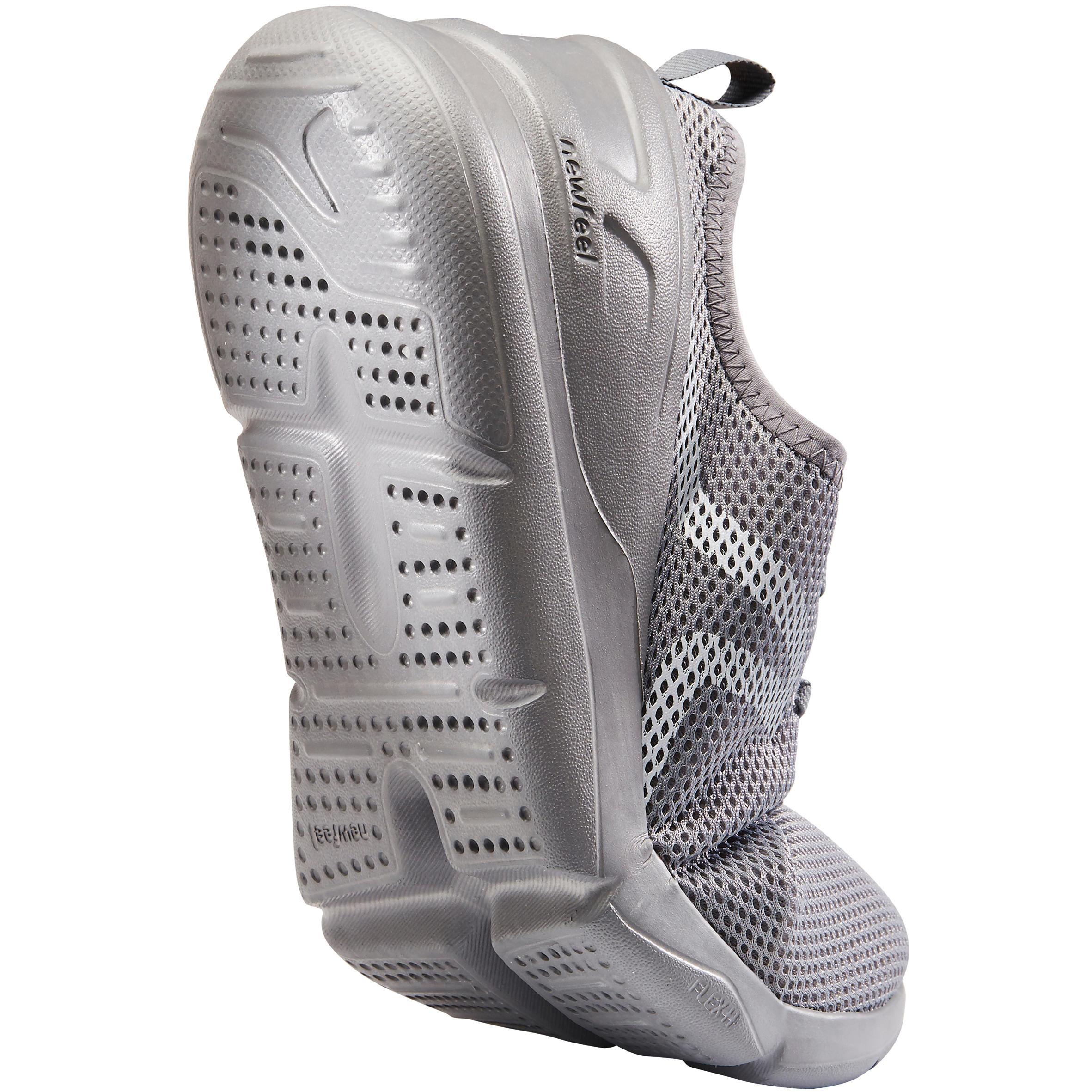 PW 100 Men's Fitness Walking Shoes - Grey