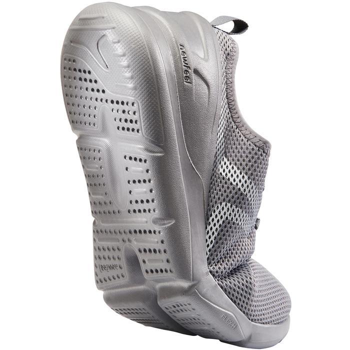 Zapatillas de Marcha Deportiva Newfeel PW 100 hombre gris