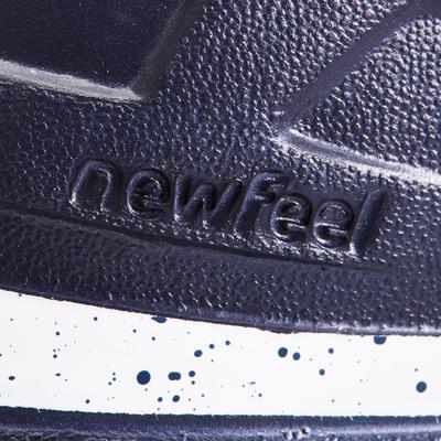 PW 140 men's fitness walking shoes blue / white