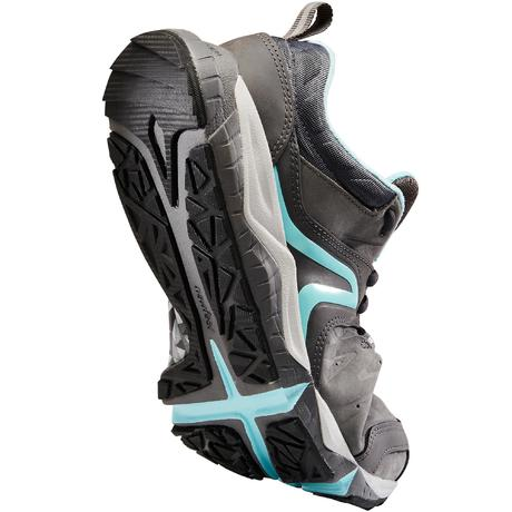 7be464e8299 Chaussures marche sportive femme PW 940 Propulse Motion cuir gris   bleu.  Previous. Next