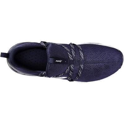 PW 140 Men's fitness walking shoes blue/white