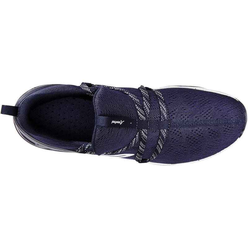 Walking shoes for Men Fitness PW 140-blue/white