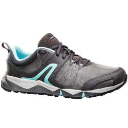 PW 940 Propulse Motion Women's Fitness Walking Shoes leather grey/blue