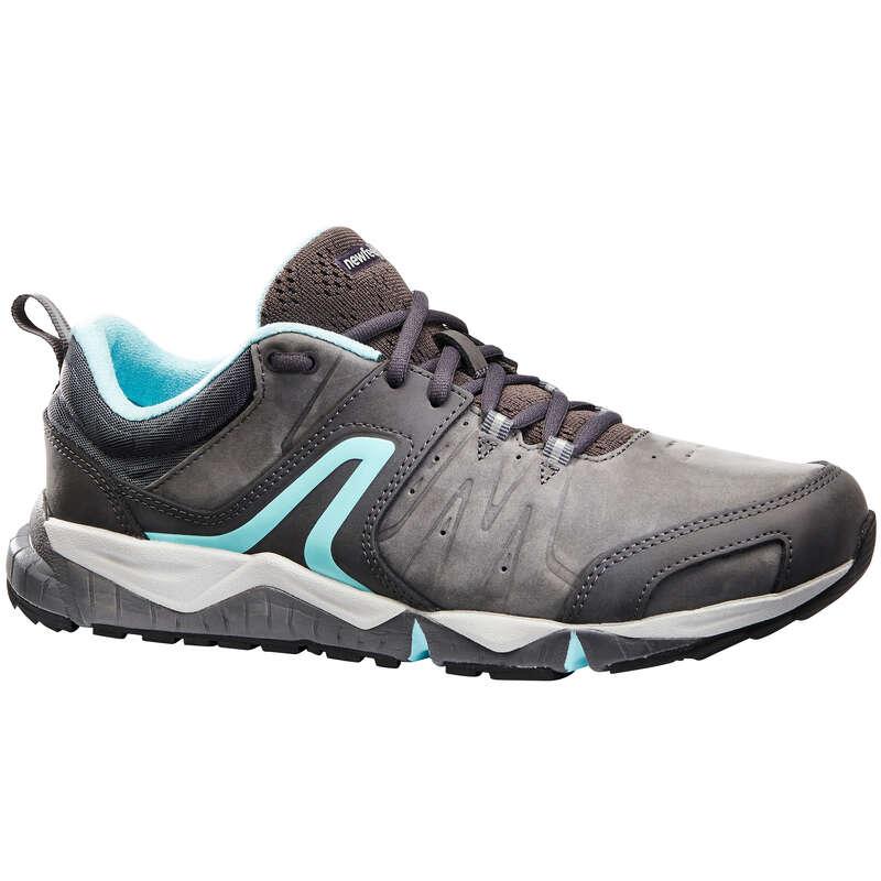 WOMEN SPORT WALKING SHOES Hiking - PW 940 Shoes - Grey/Blue NEWFEEL - Outdoor Shoes