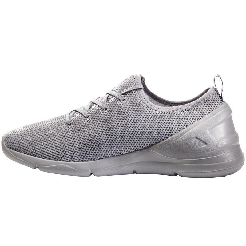 รองเท้าผู้ชายสำหรับใส่เดินเพื่อสุขภาพรุ่น PW 100 (สีเทา)