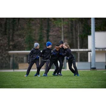 Kindermuts voor voetbal Keepwarm fel blauw