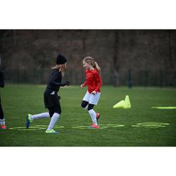 Voetbalshirt kind F100 zwart