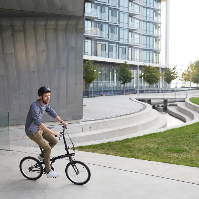 Bicicleta Plegable Tilt 100 Negro