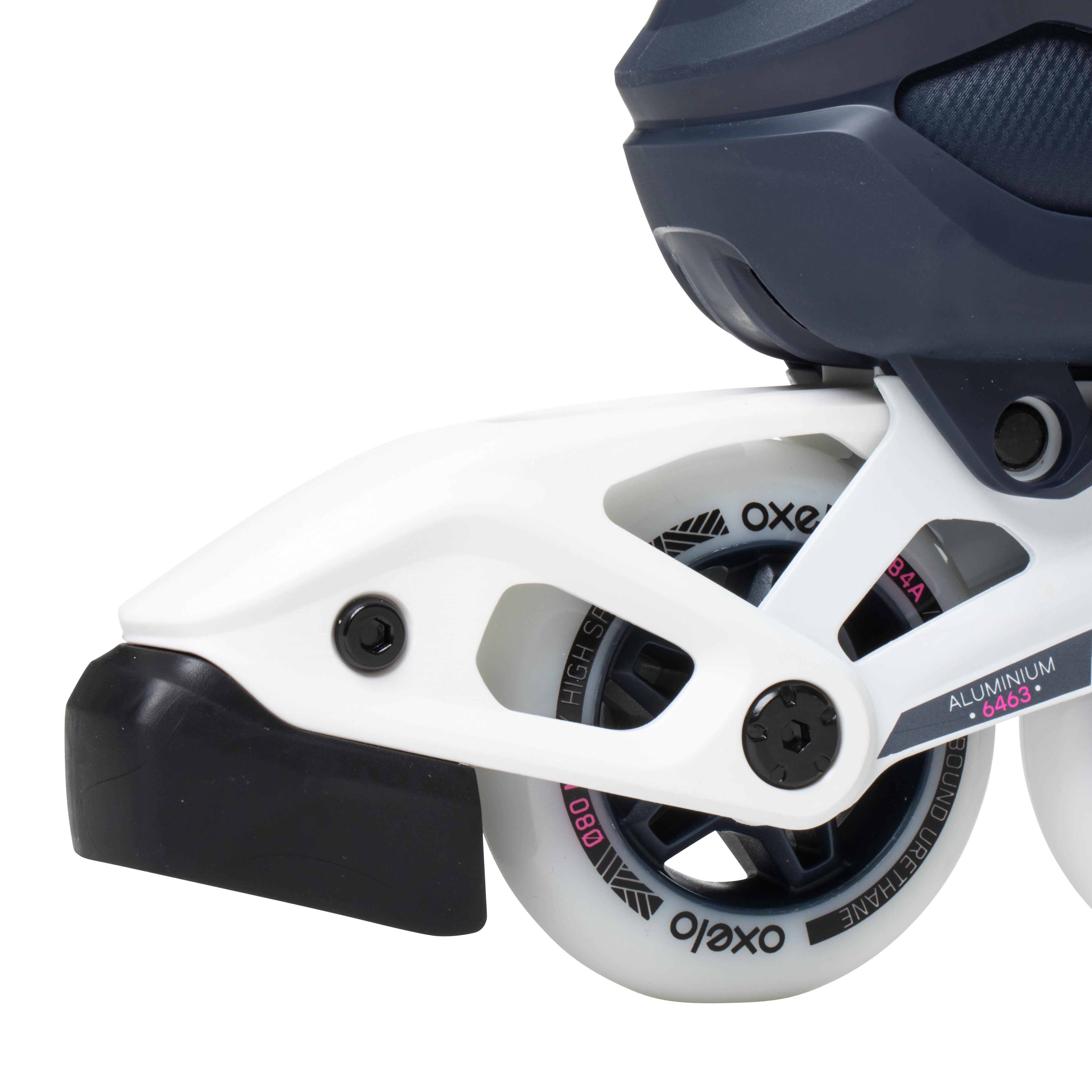 Patins à roues alignées pour femme FIT500 Urbain Prune