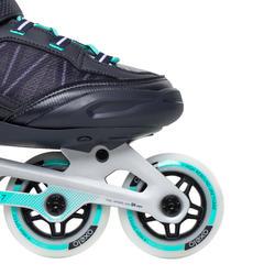 Roller fitness femme FIT500 Peppermint