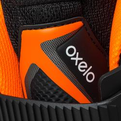 Patines en Patinaje Línea Oxelo FIT 500 Hombre Negro/Naranja
