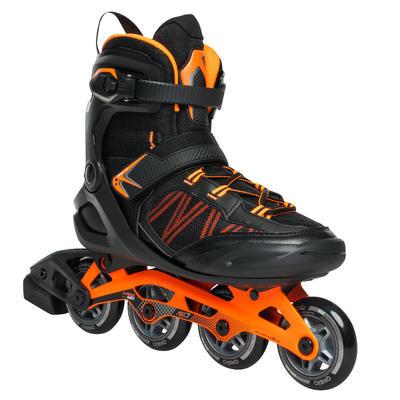 38a60d1ef أحذية تزلج FIT500-حمض صبغ برتقالي