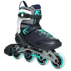 Inlineskates Inliner Fitness FIT 500 Damen Peppermint