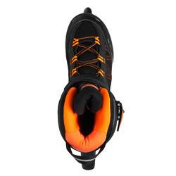 Roller fitness homme FIT500 acid orange