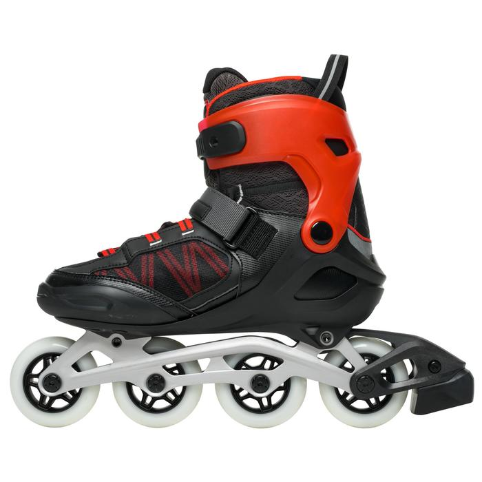 Roller fitness homme FIT500 techno red