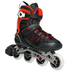 FIT500 Inline Fitness Skates - Techno Red
