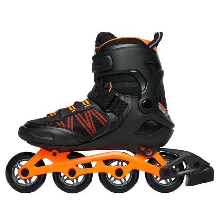 FIT500 Inline Fitness Skates - Acid Orange