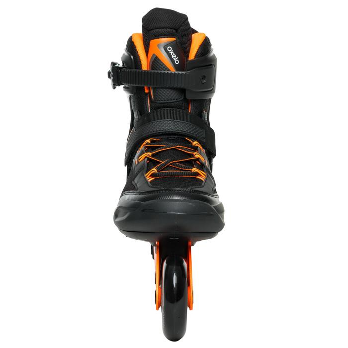 Roller fitness homme FIT500 acid orange