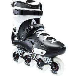 Patines Patinaje Freeride Skate Powerslide Imperial One Dual Fit Negro/Blanco
