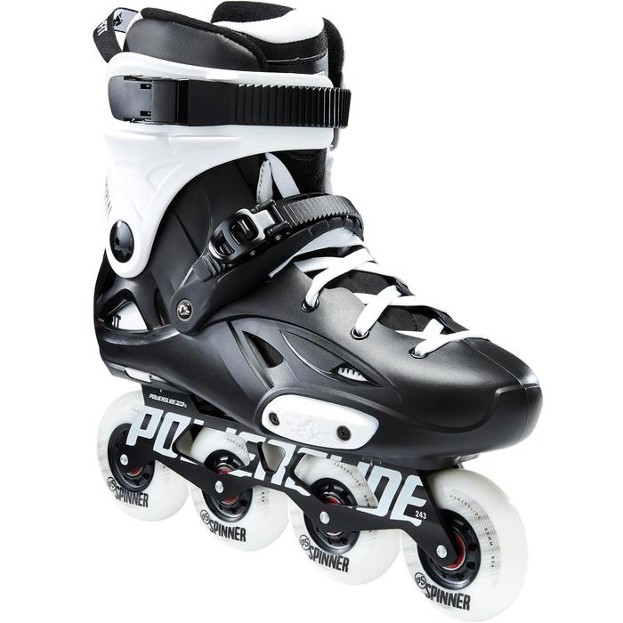 Roller freeride adulte IMPERIAL ONE DUAL FIT noir blanc - 1420209