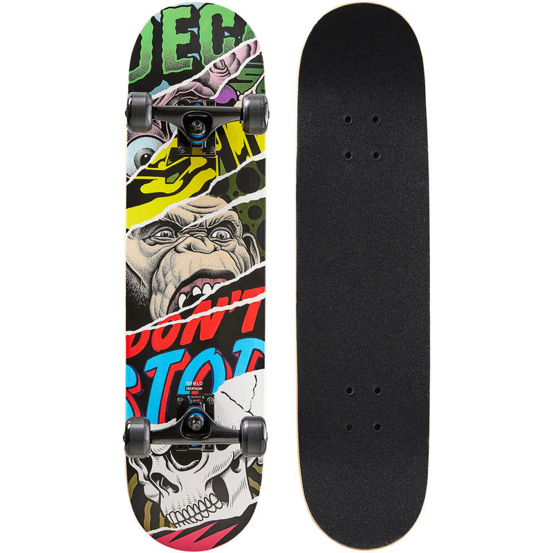 Skateboard MID500 Monkey Anak Usia 8 hingga 12