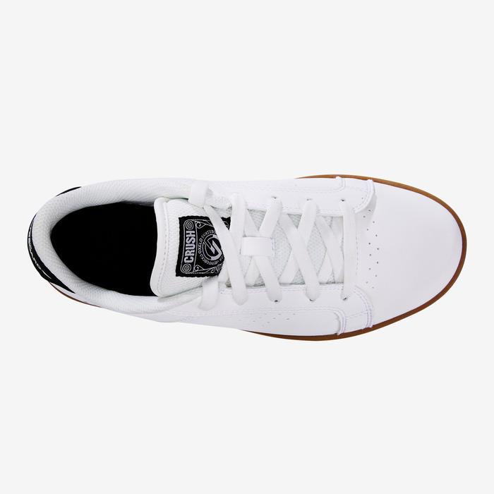 Chaussure de skate enfant CRUSH BEGINNER noire verte - 1420215