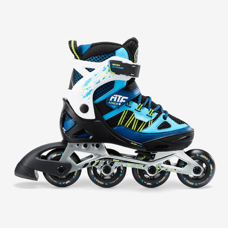 Fit 5 Jr Kids' Inline Fitness Skates - Blue/White