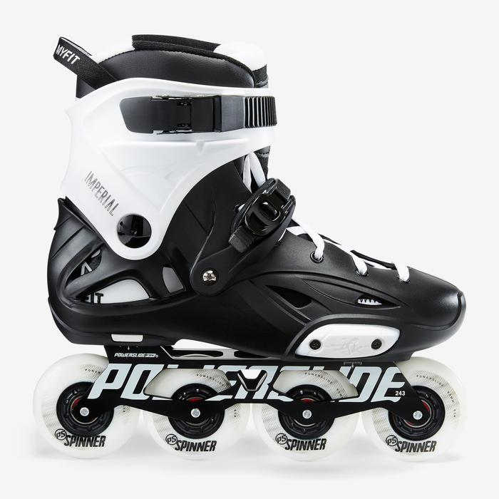 Roller freeride adulte IMPERIAL ONE DUAL FIT noir blanc - 1420246