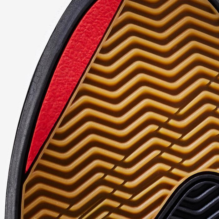 Skateschuh Sneaker Crush 500 Kinder schwarz/rot