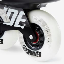 Roller freeride adulte IMPERIAL ONE DUAL FIT noir blanc