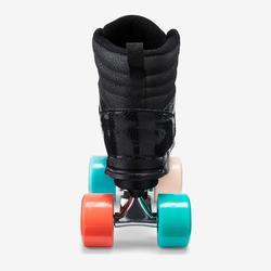 Rolschaatsen 100 voor kinderen zwart