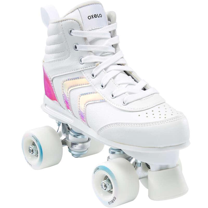 Rollschuhe Erwachsene Inline Skating - Rollschuhe Quad 100 Kinder OXELO - Inline Skating
