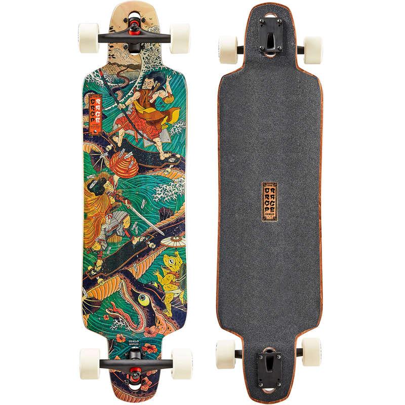 Longboards Trotinete Role Skateboard - Longboard FREE 520 JAPAN  OXELO - Skateboard Longboard