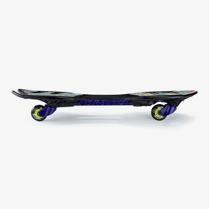 Waveboard OXELO XT Monster Todas Las Edades Estampado y Negro