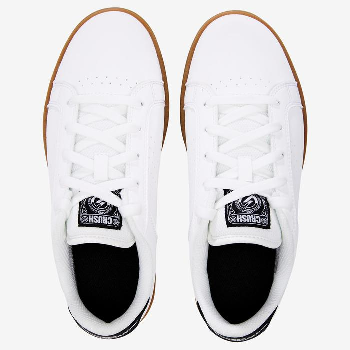 Chaussure de skate enfant CRUSH BEGINNER noire verte - 1420285